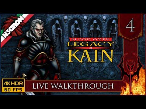 Blood Omen: Legacy of Kain ⚔️ Gameplay ITA #4 ✔️ LIVE WALKTHROUGH [4K 60 FPS]