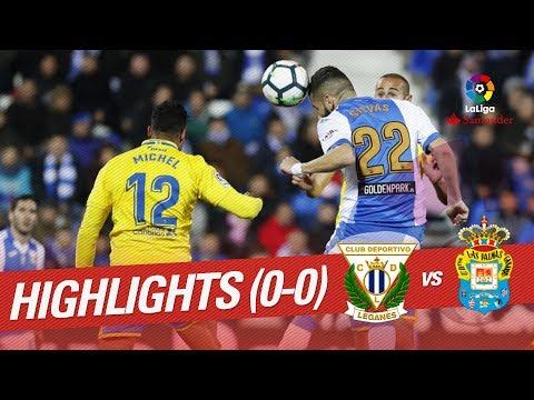 Resumen de CD Leganés vs UD Las Palmas (0-0)