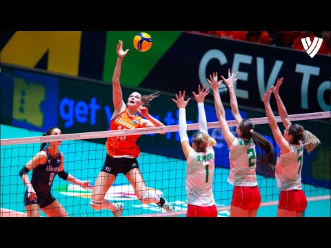 Women's Smartest Volleyball Dinks! | Best of Volleyball World | HD