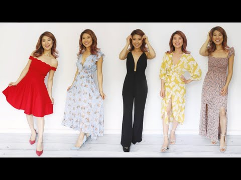 Video: What to Wear to a Wedding! 14 Dress Styles!