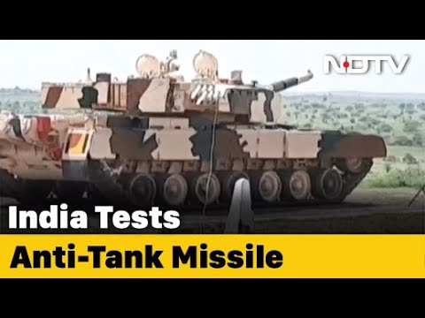 DRDO Successfully Test Fires Laser-Guided Anti-Tank Guided Missile