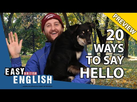 20 Ways To Say Hello In English (PREVIEW) | Easy English 56 photo