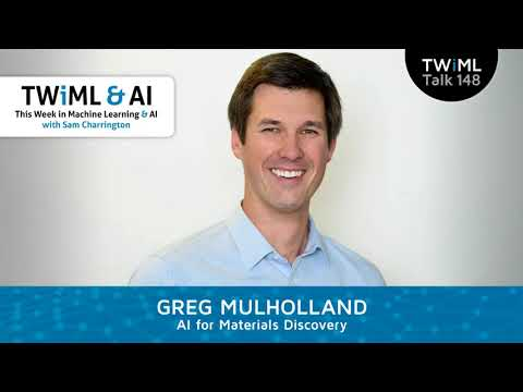 Greg Mulholland Interview - AI for Materials Discovery