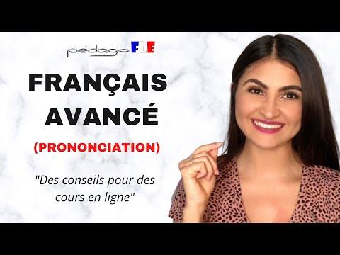 Practica de PRONUNCIACION de FRANCES AVANZADO