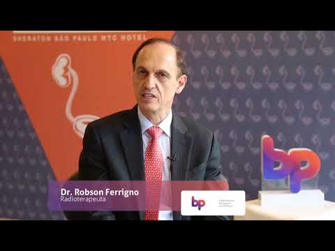 Dr. Robson Ferrigno no IX Congresso Internacional de Uro-Oncologia
