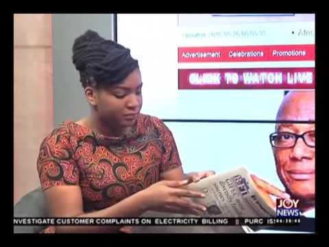 Newspaper Headlines - Joy News (26-5-16)