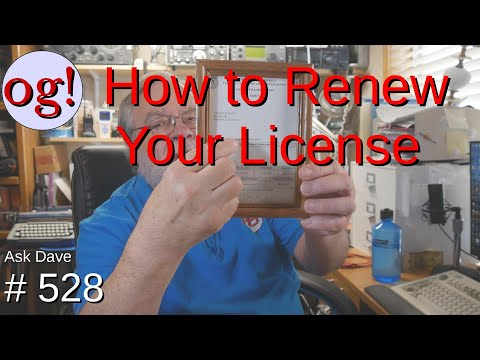 How to Renew Your License (#528)