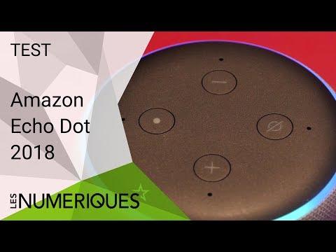 vidéo test Amazon Echo Dot par Les Numeriques
