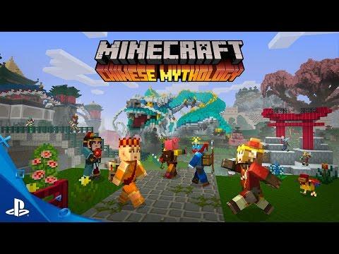 MINECRAFT - Chinese Mythology Mash-Up Pack Trailer | PS4, PS3, PS Vita
