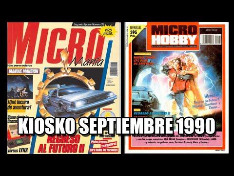 MICROMANIA Y MICROHOBBY KIOSKO SEPTIEMBRE 1990