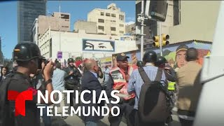 Grupos paramilitares atacaron a diputados de oposición en Venezuela   Noticias Telemundo