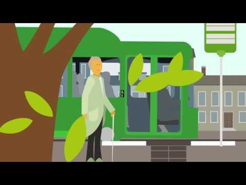 Resa med Skånetrafiken (Syntolkad) - för dig som har nedsatt syn