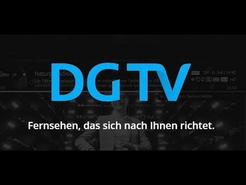 DGTV - Fernsehen, das sich nach Ihnen richtet