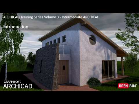 Introduction to ARCHICAD Training Series 3 – 01/52
