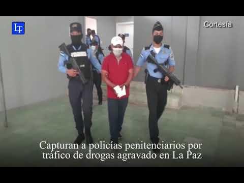 Capturan a policías penitenciarios por tráfico de drogas agravado en La Paz