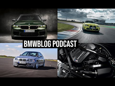 BMWBLOG Podcast EP.45 - BMW M4 CSL, M5 CS and M3/M4 Exhaust Sound