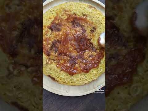มาม่าพิซซ่า- -วิธีทำ- -FoodTra