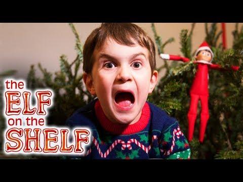 Elf on the Shelf Caught Again on last day!! – Christmas Kids Surprise Parody