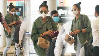 Actress Rakul Preet Singh EXCLUSIVE Visuals @ Hyderabad Airport | Celebrities Airport Videos | TFPC - TFPC
