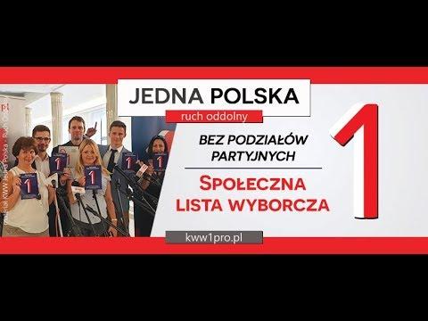 1. Konferencja prasowa KWW 1Polska - Ruch Oddolny, 20.08.2019, Warszawa