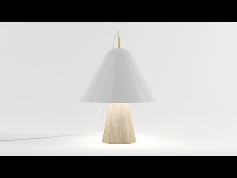 Simone Gerbino's Chapeau lamp shortlisted for Made.com's TalentLab