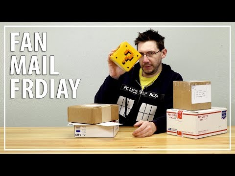 Fan Mail Friday for March 2, 2018 PLUS CLEANING MY DESK!