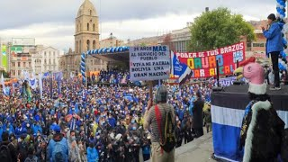 Lucho Arce David Choquehuanca y Evo Morales participa en 26 aniversario del MAS IPSP - Bolivia