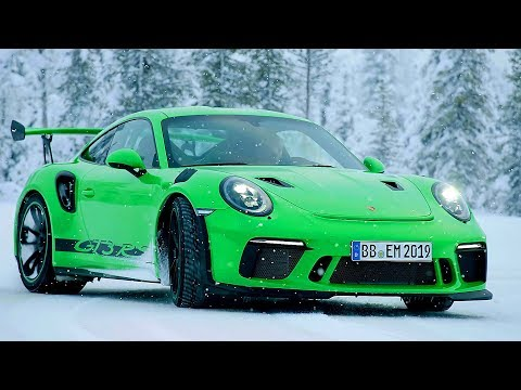 Porsche 911 GT3 RS (2018) Test on Snow