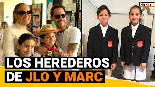 EMME Y MAX: Los hijos de JLO y Marc Anthony cada vez más idénticos a papá y mamá