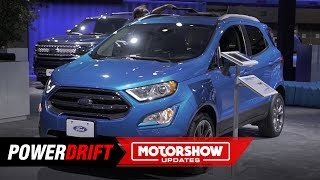 2019 Ford Ecosport : Longer than 4 meters : 2018 LA Auto Show : PowerDrift