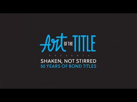 Shaken, Not Stirred: 50 Years of Bond - PromaxBDA Presentation