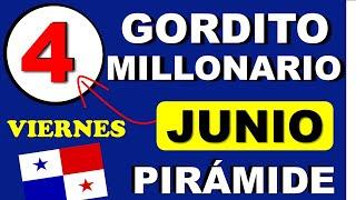 Piramide Suerte Decenas Para Viernes 4 de Junio 2021 Loteria Nacional de Panama Gordito Millonario