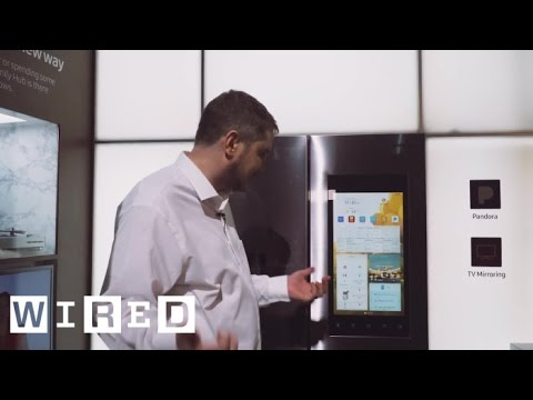 The Fridges of the Future Surf the Web and Take Pictures