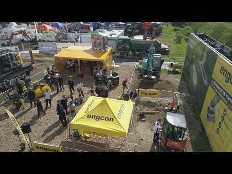 engcon demo - Intermat 2018