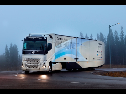 Volvo Trucks - Introducing the Volvo Concept Truck featuring a hybrid powertrain