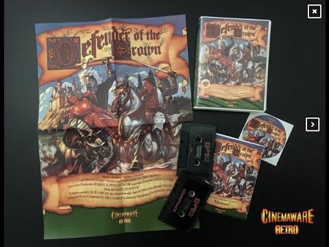 DEFENDER of the CROWN – the never released ZX-Spectrum-Port.