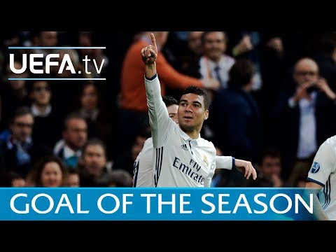 Casemiro - Is this your Goal of the Season? Vote now!