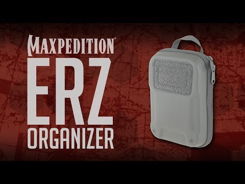 MAXPEDITION Advanced Gear Research ERZ Everyday Organizer