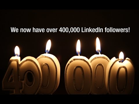 Jacobs Reaches 400,000 LinkedIn Followers!