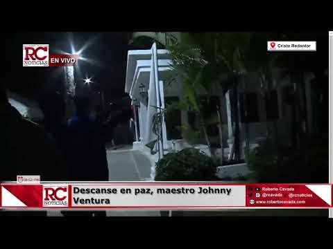 EN VIVO   Último adiós al grande Johnny Ventura