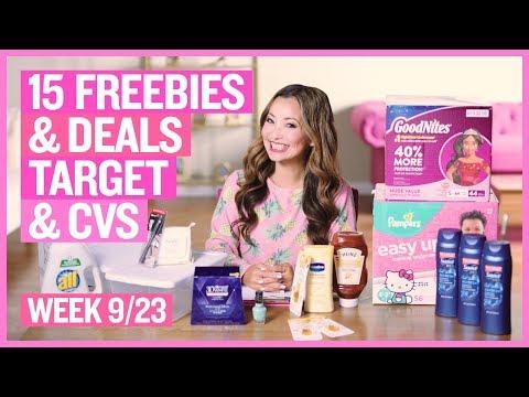 ★ Top 15 Freebies & Deals from Target & CVS This Week (9/23 – 9/29)