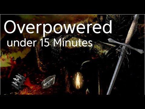 Dark Souls  Sotfs Overpowered Build