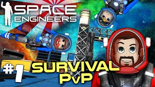 Space Engineers PVP Ep1: A Proper Burial