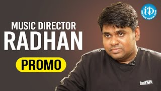 Music Director Radhan Exclusive Interview Promo | Talking Movies with iDream | Amaram Akhilam Prema - IDREAMMOVIES