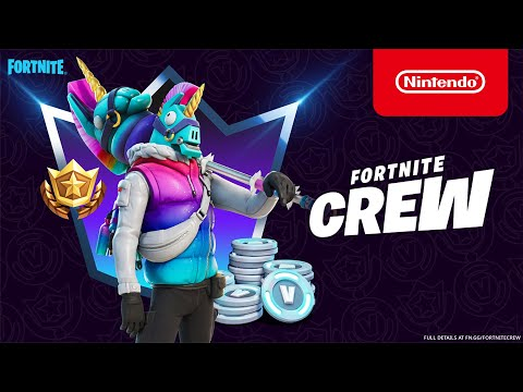 A Llegend Enters: Llambro arrives for Fortnite Crew Members in March - Nintendo Switch