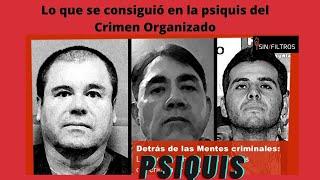 DETRÁS DE LAS MENTES DEL CRIMEN ORGANIZADO: LO QUE SE ENCONTRÓ EN LA PSIQUIS DEL CHAPO Y OTROS MÁS