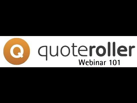 Quote Roller Business Proposal 101 - Recorded 3/19/2014