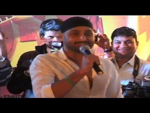Harbhajan Singh At The Music Launch Of Chaalis Chaurasi