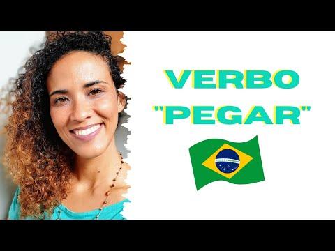 VERBO PEGAR #clasedeportugues