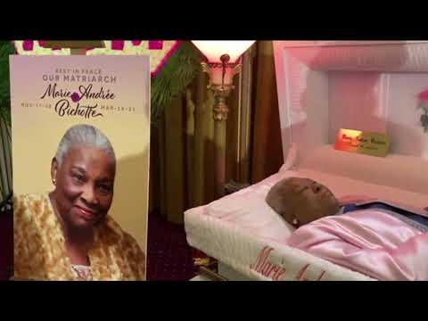 Marie Andree Bichotte Our Matriarch RIP video by Jose Rivera 4:3:21